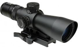 NCStar STP3942GV2 Mark III 3-9x 42mm Obj 36.8-12 ft @ 100 yds FOV Tube Dia Black P4 Sniper