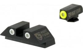 Night Fision GLK-001-03-YWX NS Glock 17/19 Square