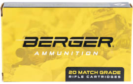 Berger Bullets 31011 6.5 Creedmoor 140 GR Hybrid Hunter - 20rd Box