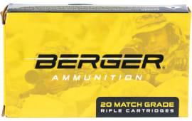 Berger Bullets 31021 6.5 Creedmoor 130 GR HYB OTM Tact - 20rd Box