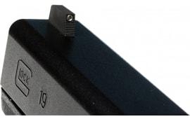 Wilson 668TF245 Vickers Elite Snag Free Front Green Tritium Glock 9/40 Black