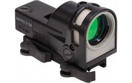 Meprolight M21T M-21 1x 30mm Obj Unlimited Eye Relief 12 MOA Triangle Black