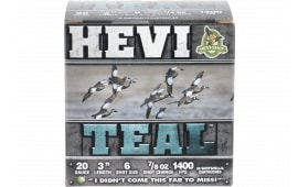 "HEVI-Shot 62006 HEVI-TEAL 20 3"" 6 7/8 - 25sh Box"