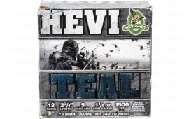 HEVI-Shot 61225 HEVI-TEAL 12 2.75 5 - 25sh Box