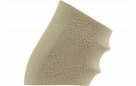 Hogue 17003 HandAll Full Size Grip Sleeve Slip-On Grip Textured Rubber Desert Tan