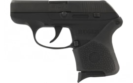 Hogue 18100 Ruger LCP HandAll Grip Sleeve Ruger LCP Black Rubber