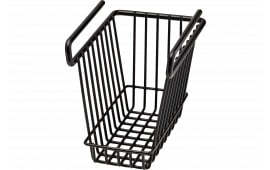 SnapSafe 76010 Hanging Shelf Basket Vault Organizer Black Small