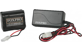Foxpro Lithium Battery Kit Lithium 10 Cell Fast Charge Wall Charger & Battery