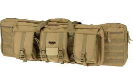 "Rukx ATICT42DBT 42"" Tact DBL GUN Case TAN"