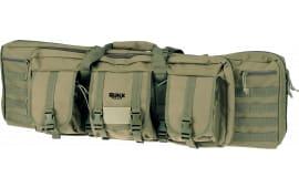 "Rukx ATICT36DGG 36"" Tact DBL GUN Case Green"
