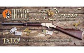 Henry H004RG EL Dorado .22S/L/LR Rose Gold PVD Walnut (TALO)