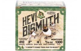 "HEVI-Shot 19004 Bismuth WF 410 3"" 4 9/16 - 25sh Box"