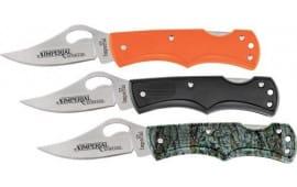Imperial IMPCOM5CP Imperial 3 pc Combo Pack w/IMP35 Lockback Folding Knives in Black, Orange, and Camo