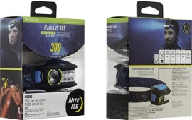 Nite Ize R300RH-03-R8 Radiant 300 Rechargeable Headlamp - Blue