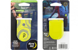Nite Ize TGLR-33-R3 TagLit Rechargeable Magnetic LED Marker - Neon Yellow/Green LED