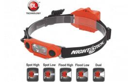 Nightstick XPP-5462RX Dicata Intrinsically Safe Low-Profile Dual-Light Headlamp
