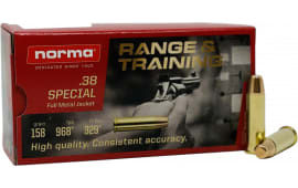 Norma 620540050 38 158 FMJ - 50rd Box