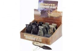 Humvee HMV-DB-GRENADE Grenade Knives Display Box
