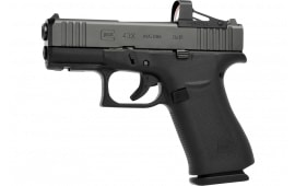 "Glock G43X Semi-Automatic Compact Pistol 3.39"" Barrel 9mm 10 Round -  Includes MOS Optics Cut - PX4350201FRMOS"