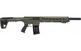"PW Arms INC AR-12 Standard OD Green Cerakote 20"" 3"" Tactical Shotgun"