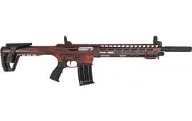 Panzer AR12PSREDCRA AR Twelve Distressed Red Tactical Shotgun