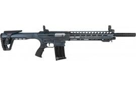 Panzer AR12PSBLUECRA AR Twelve Distressed Blue Tactical Shotgun
