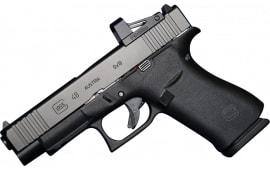 Glock PA4850201FRMOS G48 MOS 9MM Semi-Auto Pistol,  FS, FRT, 10 Round - MOS Optic System