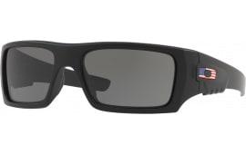 Oakley OO925311 BAL DET Cord Mtte Black w/USA FL Gray