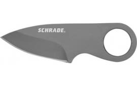Schrade SCHCC1 Pocket Money/Card Clip Full Tang Fixed Blade Knife