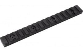 Timber M15SPRBL M-LOK 15 Slot Picatinny Rail Black
