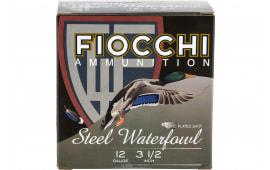 Fiocchi 1235ST4 Steel 4 13/8 3.5 - 25sh Box