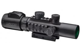 Konus AS34 2-6X28mm Rifle Scope, Illuminated Mil-Dot - KON 7170