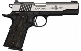 Browning 051-935492 1911 380 Black Label MED PRO 4.25 LAM
