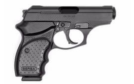 "Bersa Thunder CC Semi Automatic Pistol .380 ACP 3.2"" Barrel 8 Rounds Polymer Grip Matte Black Finish THUN380MLTCC"