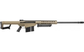 "Barrett 16133 M82 A1 Non-Detachable Magazine Semi-Auto 29"" 10+1 Fixed Flat Dark Earth Stock FDE/Black"