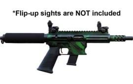 "TNW Firearms PXCPLT0045BKGN Aero Survival Pistol 8"" 26rd Tiger Green"