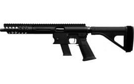 """TNW Firearms PXBRHG0009BK Aero Survival Pistol 8"""" 33rd w/BRACE Black"""
