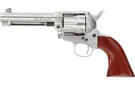 Taylors and Company 712AWE 1873 Cttlmn Floral WHT 357 4.75 Revolver