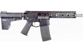 "2A Armament PBA8BOML7BLK2 Balios Lite G2 8"" 300BL Pistol BBL & 7 MLK Rail"