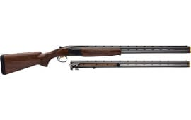 """Browning 018143303 Citori CXS Combo 12/20GA 3"""" 30"""" VR INVDS-3 Blued Grii Walther Shotgun"""