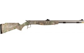 "CVA PR2022S Break Open 26.0"" Fiber Optic Synthetic Realtree Xtra Green Stock"