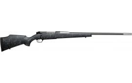 "Weatherby MAMM340WR6O Mark V Accumark Bolt 26"" 3+1 Synthetic Black w/Gray Spiderweb Stock"