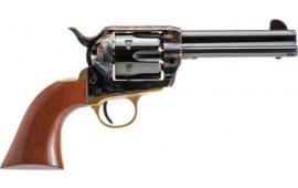 "Cimarron PPP357 Pistolero .38 SPL/.357 FS 4.75"" CC/BLUED/BRASS WAL"