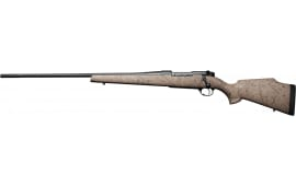 Weatherby MUTM653WL8B MKV Ultra Lightwt Left Hand 6.5-300 Fluted TAN