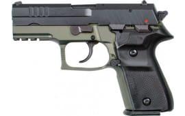 Fime REXZERO1CP-07 REX Zero 1CP Pistol FS 2-15rd Mag OD Green Polymer