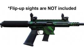 "TNW Firearms ASRPXPKG0010BKGNXXXX Aero Survival Pistol 8"" 10rd Tiger Green"