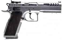 "Italian Firearms Group (IFG) TF-STOCKM-38 Stock Master 4.75"" 17+1 Hard Chrome Black Polymer Grip"