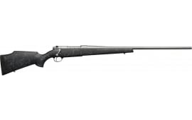 "Weatherby MWMM340WR6O Mark V Weathermark Bolt 26"" 3+1 Synthetic Black w/Gray Spiderweb Stock Gray Cerakote"