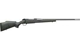 "Weatherby MARM333WR8B Mark V Accumark RC Bolt 28"" 2+1 Synthetic Gray w/Black Spiderweb Stock"