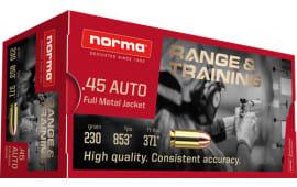 Norma 620840050 45 230 FMJ - 50rd Box